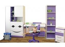 Dětský pokoj VIOLET, lamino -fialovo-bílá