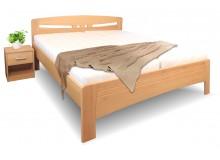 Zvýšená postel z masivu EVITA 6, 160x200, 180x200, masiv buk