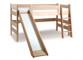 Dětská postel Sendy se skluzavkou 300/02/04
