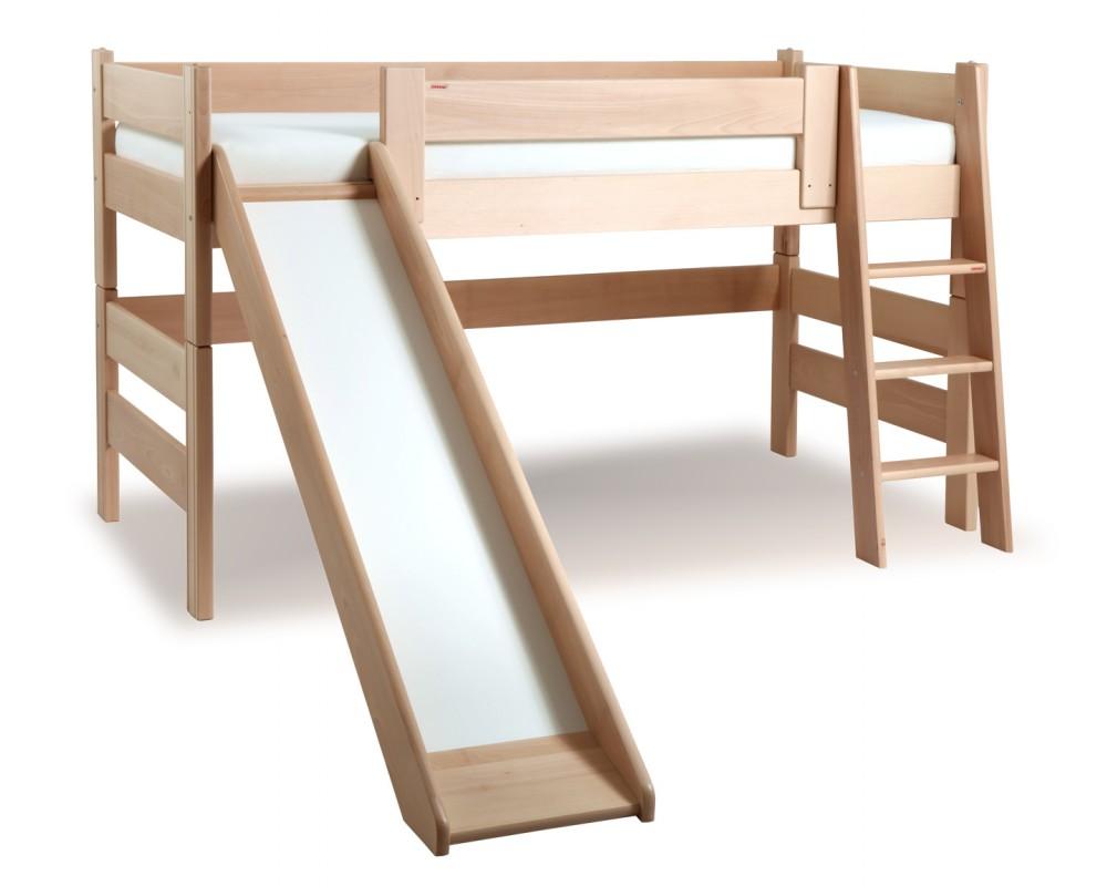 Dětská postel Sendy se skluzavkou 300b/02b/04b