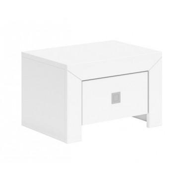 Noční stolek Milano, bílá