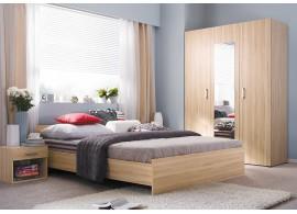 Moderní ložnice Libra, ořech virginia