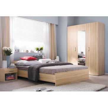 Moderní ložnice Libra, buk tatra