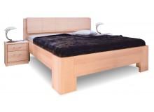 Manželská postel z masivu MANHATTAN 1 senior, 160x200, 180x200, masiv buk