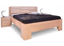 Manželská postel z masivu MANHATTAN 3 senior, 160x200, 180x200, masiv buk