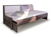 Rozkládací postel ze smrku ARLETA TWIN