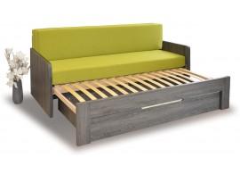 Rozkládací postel DUOVITA s područkami, lamino