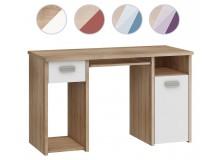 Psací stůl se zásuvkou a skříňkou Kity