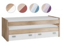 Zvýšená rozkládací postel Kity
