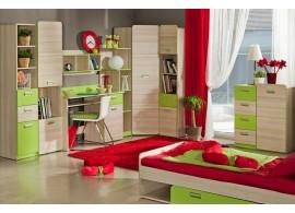 Dětský pokoj Eso, jasan-zelená