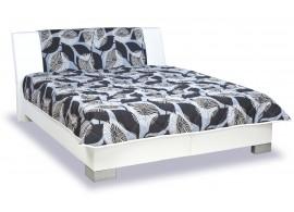 Čalouněná postel s úložným prostorem Leontýna