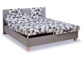 Čalouněná postel s úložným prostorem Klaudie