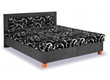 Čalouněná postel s úložným prostorem Jitka