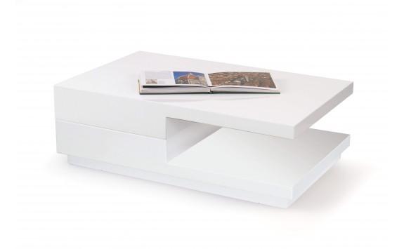 Stylový konferenční stolek MONA, 100x65, bílá