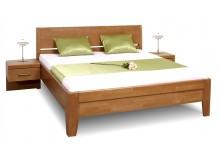 Zvýšená postel z masivu CATHRIN 2, 160x200, 180x200, masiv buk