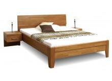 Zvýšená postel z masivu CATHRIN 3, 160x200, 180x200, masiv buk
