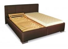 Čalouněná postel 180x200 BETKA, hnědá 1ks skladem!!!