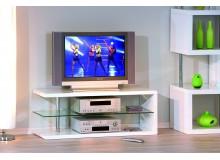 Moderní televizní stolek COCO, bílá