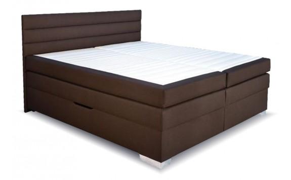 Americká postel boxspring s úložným prostorem TWISTER
