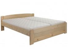 Manželská postel LADA s rošty ZDARMA 180x200, masiv borovice, 1 ks skladem!