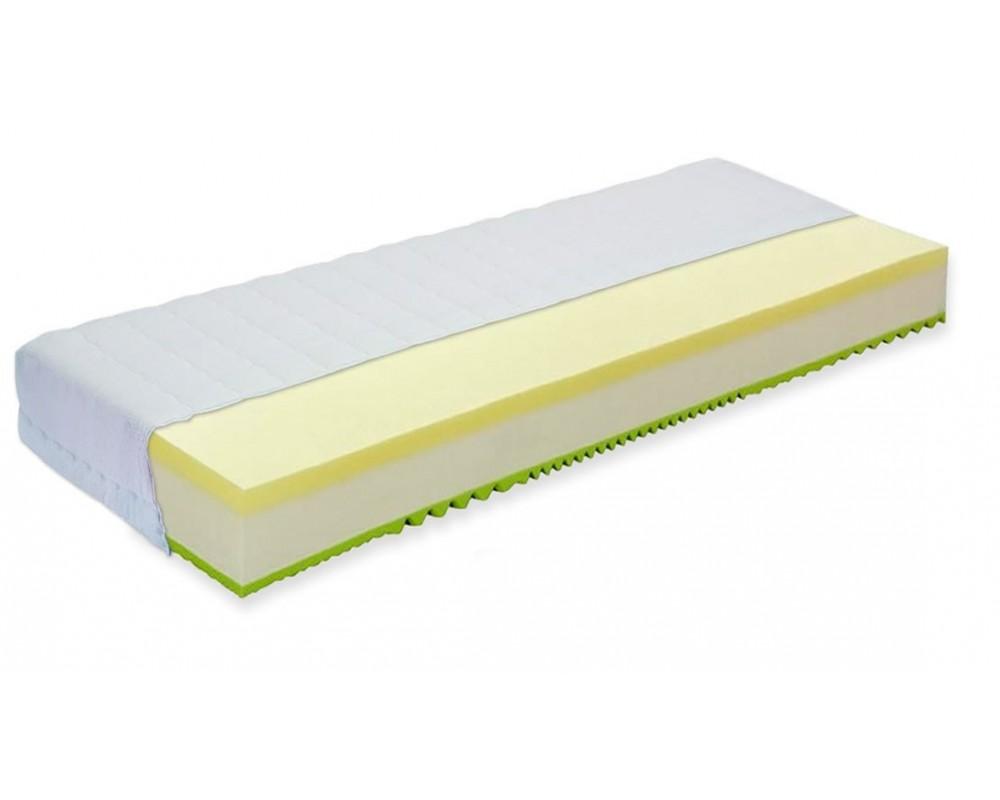 Matrace SENÁTOR SILVER 90x220, líná paměťová pěna