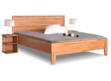 Zvýšená postel z masivu Erin 1, 160x200, 180x200, masiv buk