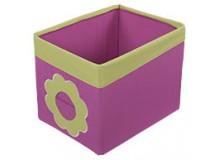 Textilní box do regálu D622 - Kytka