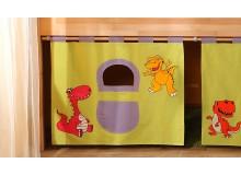 Textilní domeček Dino D257, boční - ke zvýšeným postelím- Domino