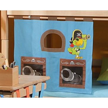 Textilní domeček Papoušek D260 - ke zvýšeným postelím- Domino