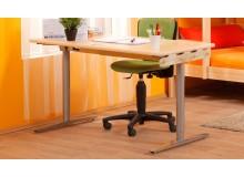Rostoucí psací stůl D732, masiv buk