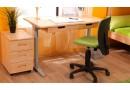 Rostoucí psací stůl D731, masiv buk