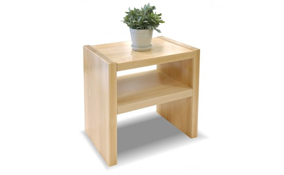 Noční stolek Gita, masiv buk