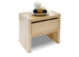 Noční stolek Gita se zásuvkou, masiv buk
