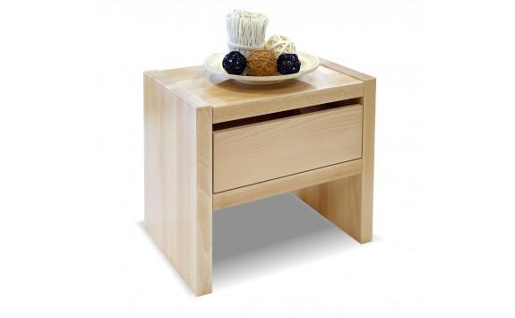 Noční stolek Gita 1, masiv buk