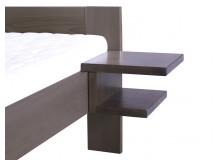 Závěsný noční stolek, masiv buk