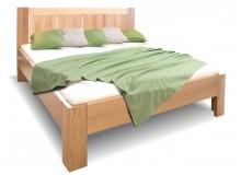 Zvýšená postel z masivu Quido, 160x200, 180x200, masiv buk
