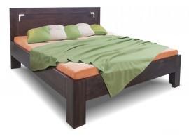 Zvýšená postel z masivu Gustav, 160x200, 180x200, masiv buk