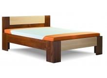 Zvýšená postel z masivu Gaston, 160x200, 180x200, masiv buk