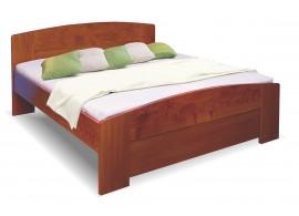 Zvýšená postel z masivu Meggi, 160x200, 180x200, masiv buk