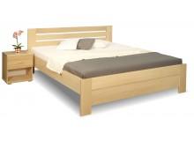 Zvýšená postel z masivu Rita, 160x200, 180x200, masiv buk