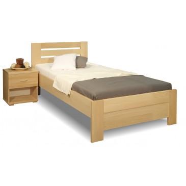 Zvýšená postel z masivu Rita, 80x200, 90x200, masiv buk