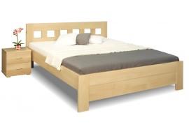 Zvýšená postel z masivu Rocco, 160x200, 180x200, masiv buk