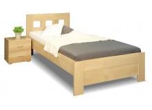 Zvýšená postel z masivu Rocco, 80x200, 90x200, masiv buk