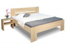 Zvýšená postel z masivu Matěj, 160x200, 180x200, masiv buk