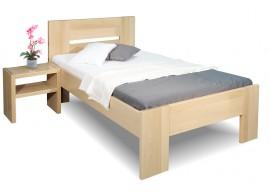 Zvýšená postel z masivu Matěj, 80x200, 90x200, masiv buk