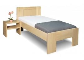 Zvýšená postel z masivu Dan, 80x200, 90x200, masiv buk