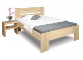 Zvýšená postel z masivu Matěj, 120x200, 140x200, masiv buk