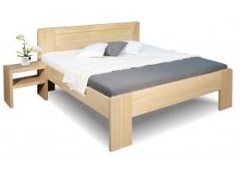 Zvýšená postel z masivu Dan, 160x200, 180x200, masiv buk