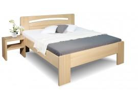 Zvýšená postel z masivu Riči, 120x200, 140x200, masiv buk