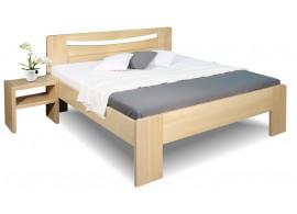Zvýšená postel z masivu Carmen, 160x200, 180x200, masiv buk